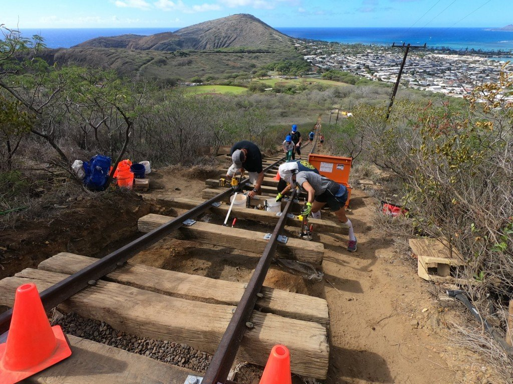 Koko Crater Repairs View,jpg