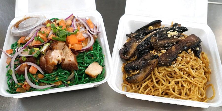 Marunggay and ulu pasta