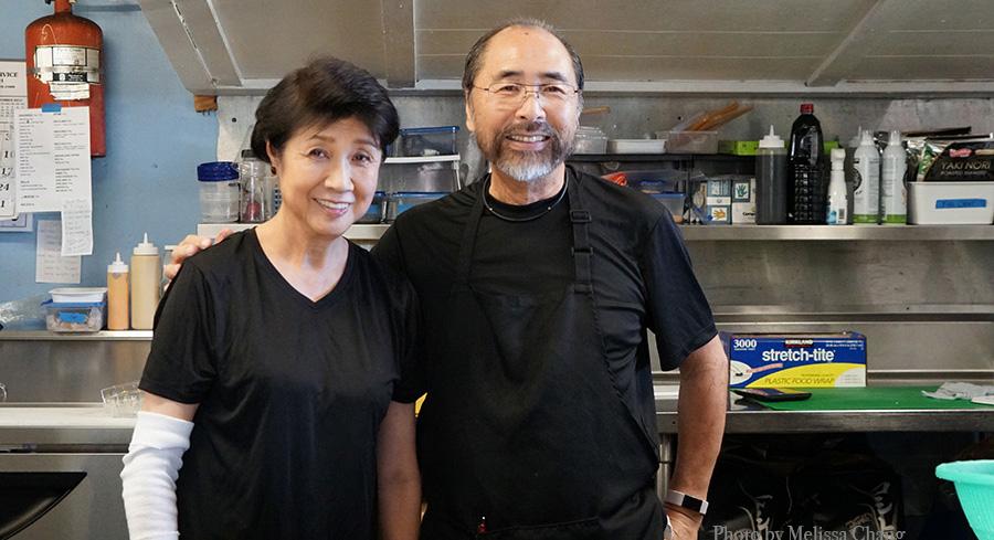 Masumi and Tetsuya Goto