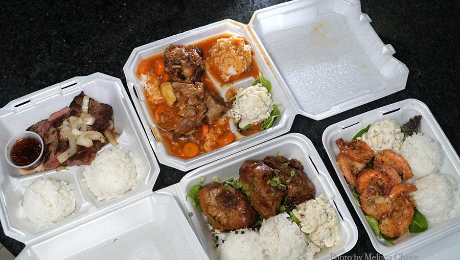 ogo's hawaii plates