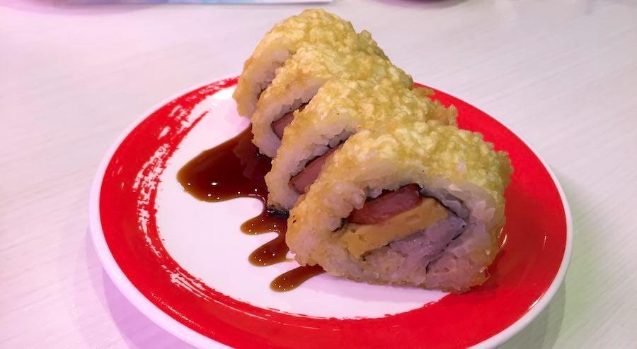 genki sushi spam musubi