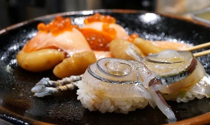 Nigiri at Sushi Murayama.