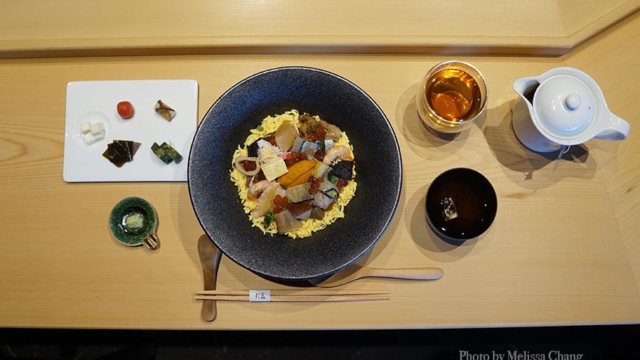 Sushi Sho barachirashi