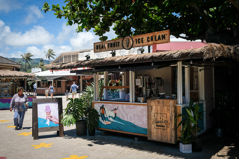 Sweet As ice cream in the Hukilau Marketplace