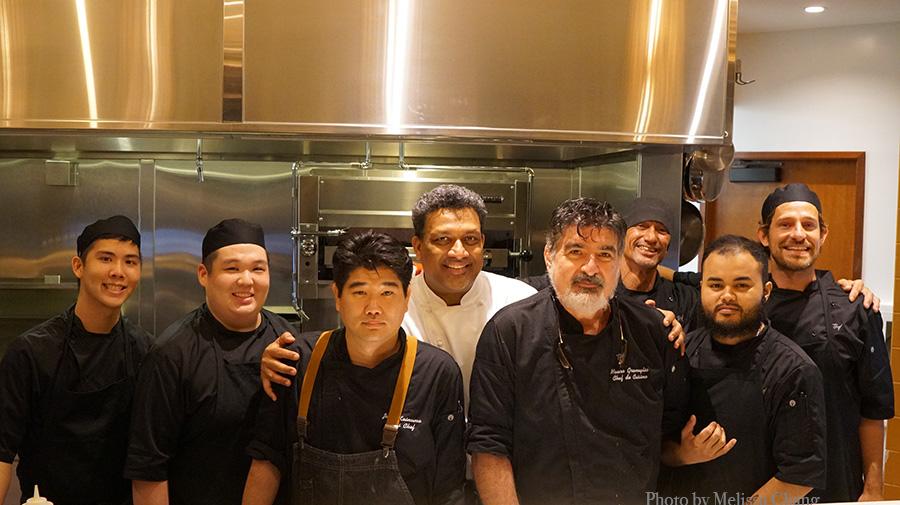 The TBD kitchen crew