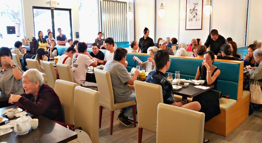 inside yung yee kee dim sum restaurant