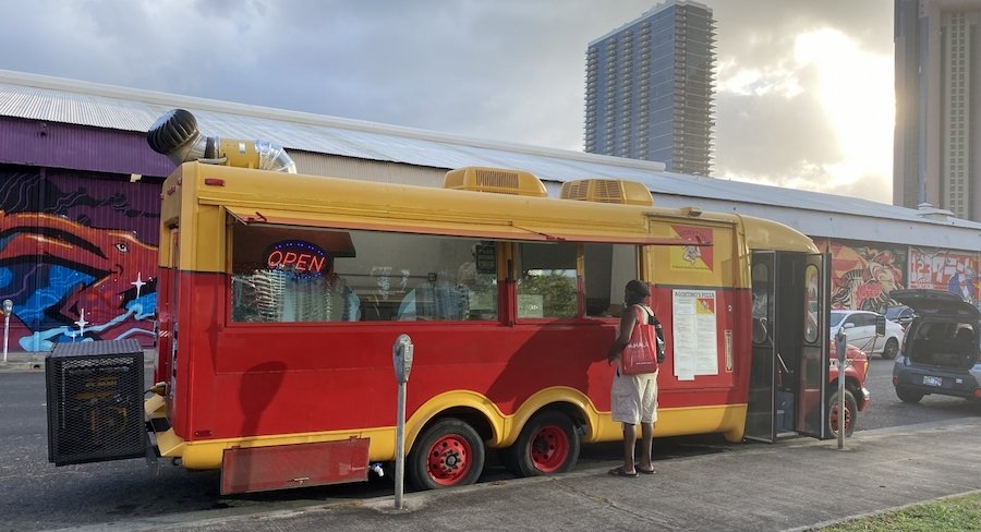 agostinos pizza truck
