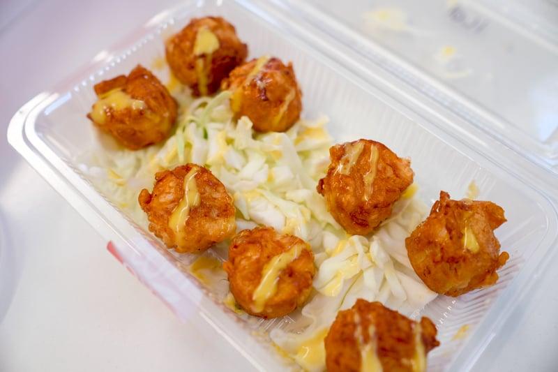 Shrimp shumai ($7.95) fried or steamed is better left unordered.