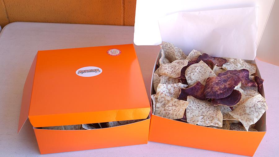Hawaiian Chip company box