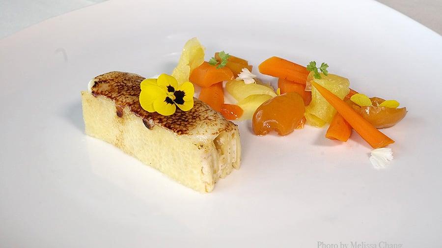 carrot crepe cake