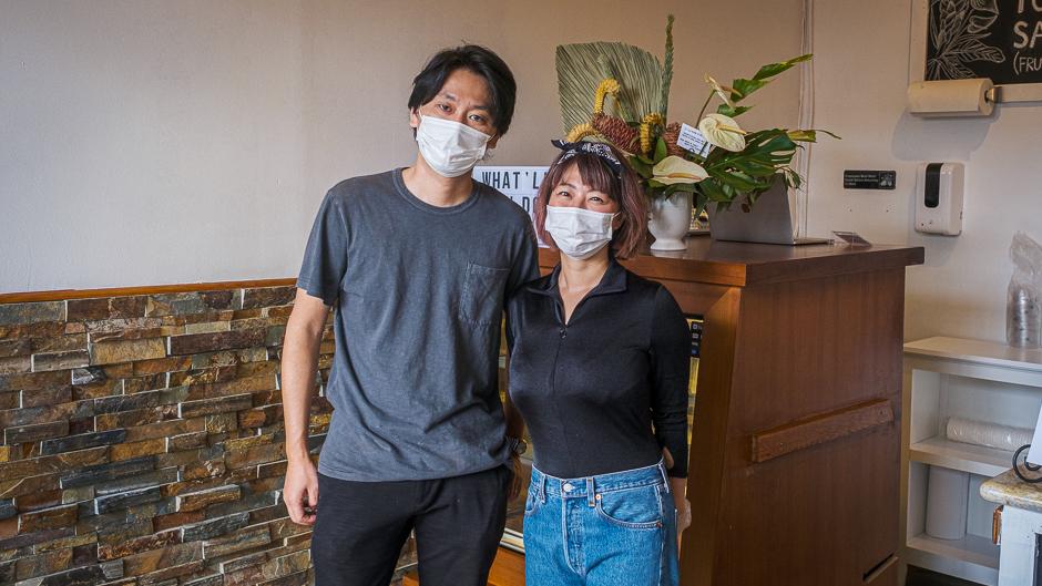 Iwaki and Yui Kishi