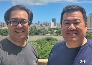 Jason Chin and Gregg Hoshida