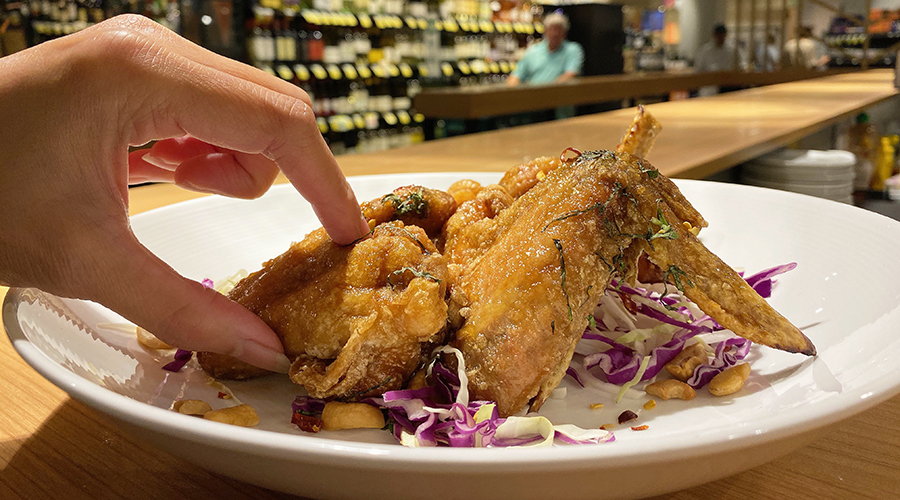 Foodland chicken hand