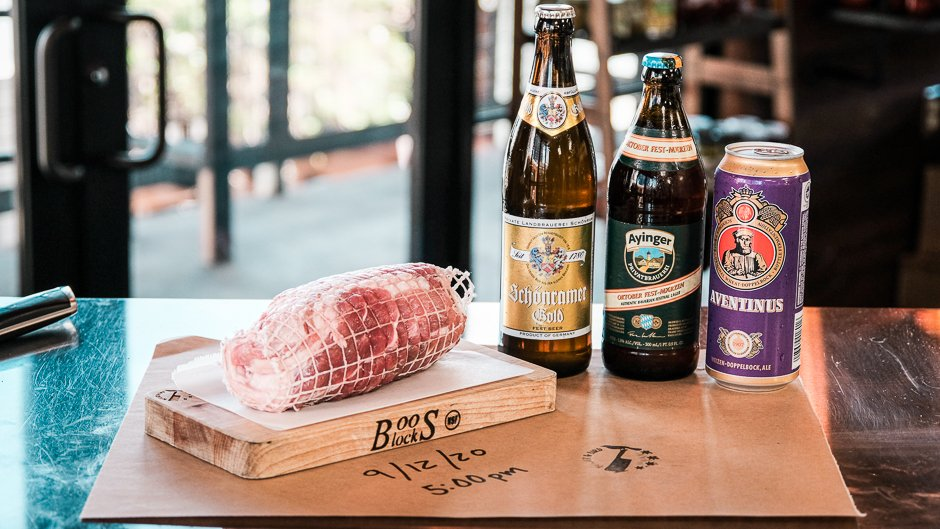coppa roast and beer