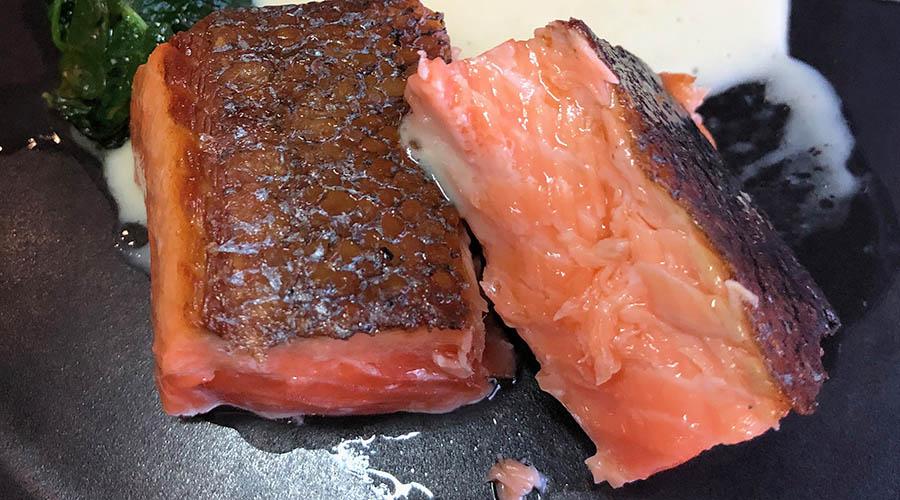 La Vie salmon cross section