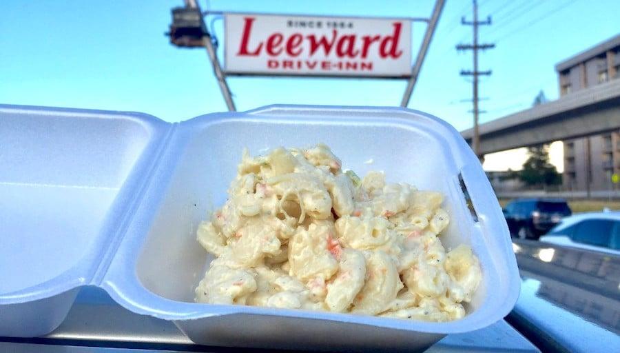 side order of leeward drive-in mac salad