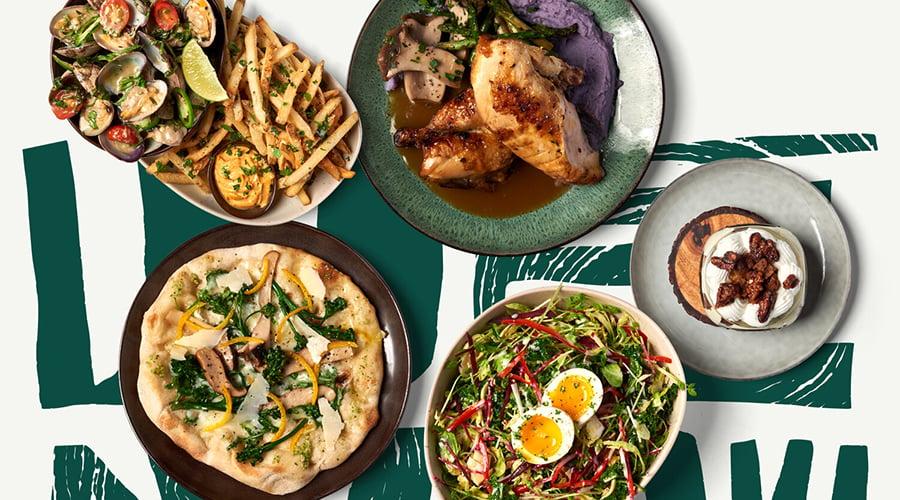 Mahiai Table spread
