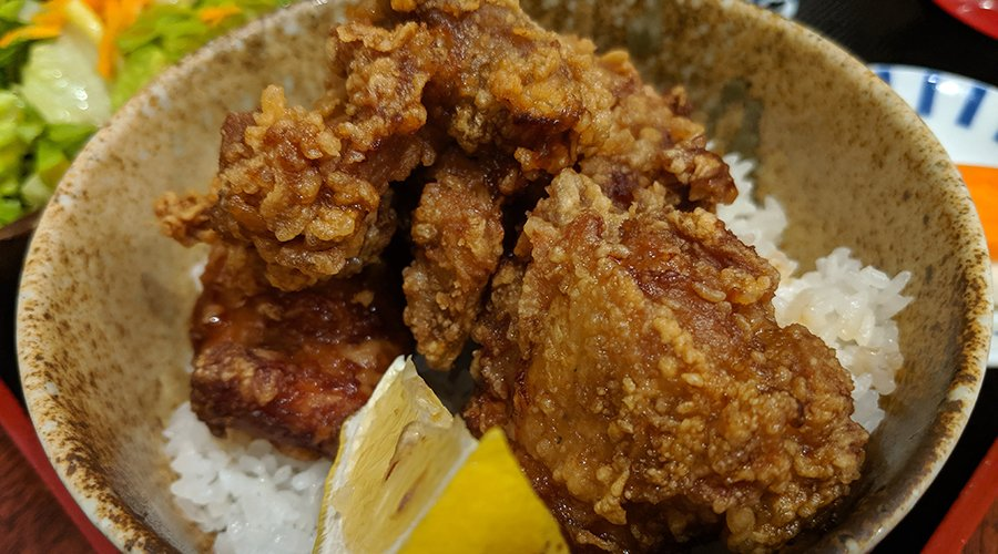 menchanko tei fried chicken