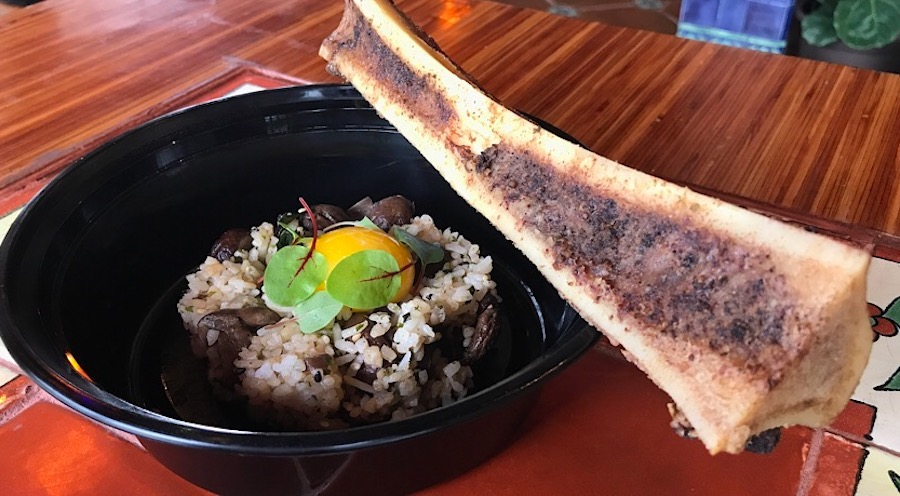 natto mushroom rice