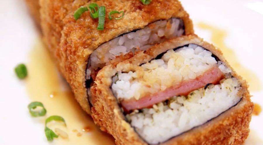 da kitchen fried spam musubi
