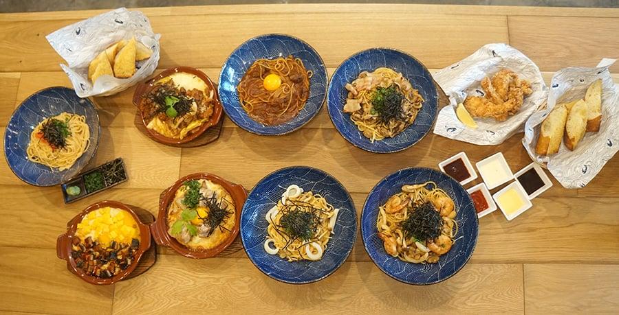 Kapiolani Spaghetti spread