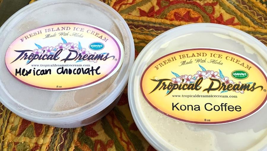 Tropical Dreams ice cream