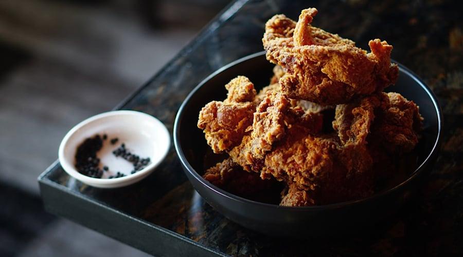 XO Restaurant fried chicken