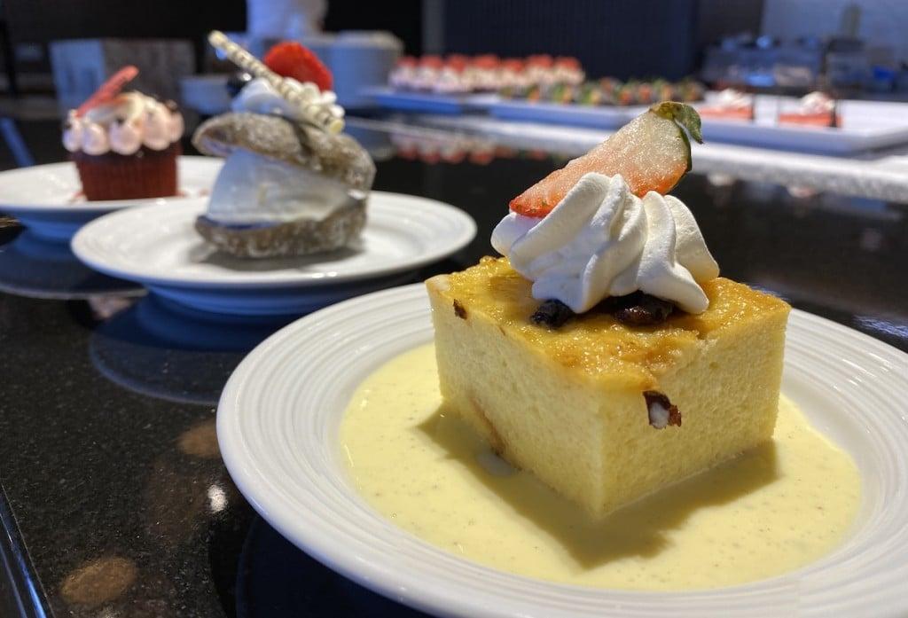 100 Sails Restaurant Desserts