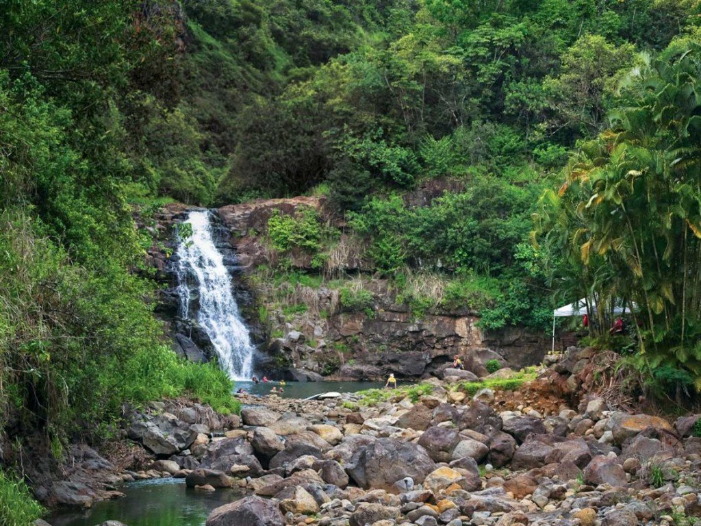 Oahu Waimea Waterfall