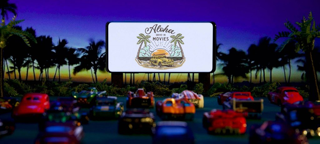 Aloha Drive In Movies at Ala Moana Center