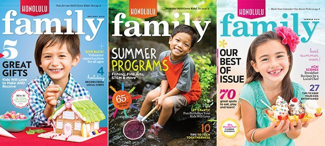 Honolulu Family Covers Subscribe