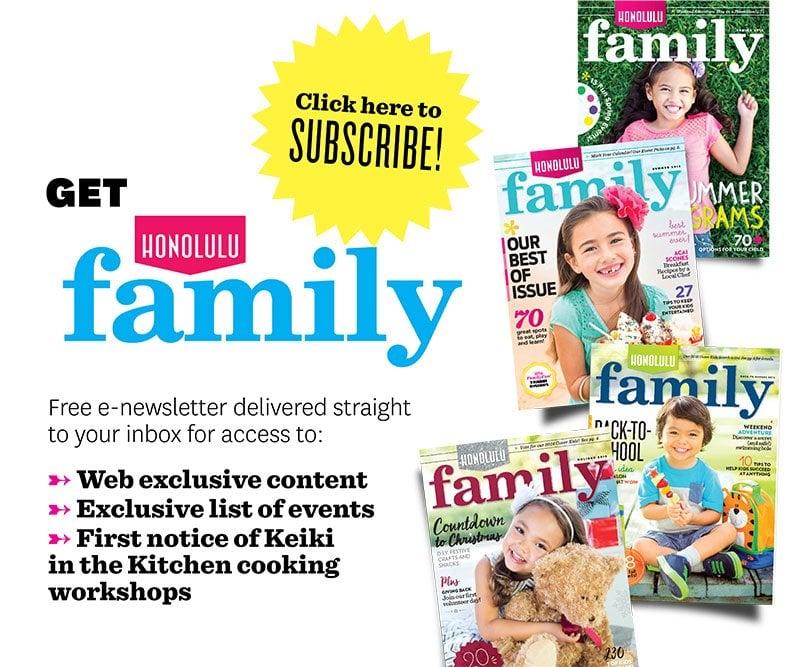 Honolulu Family Enewsletter Subscribe