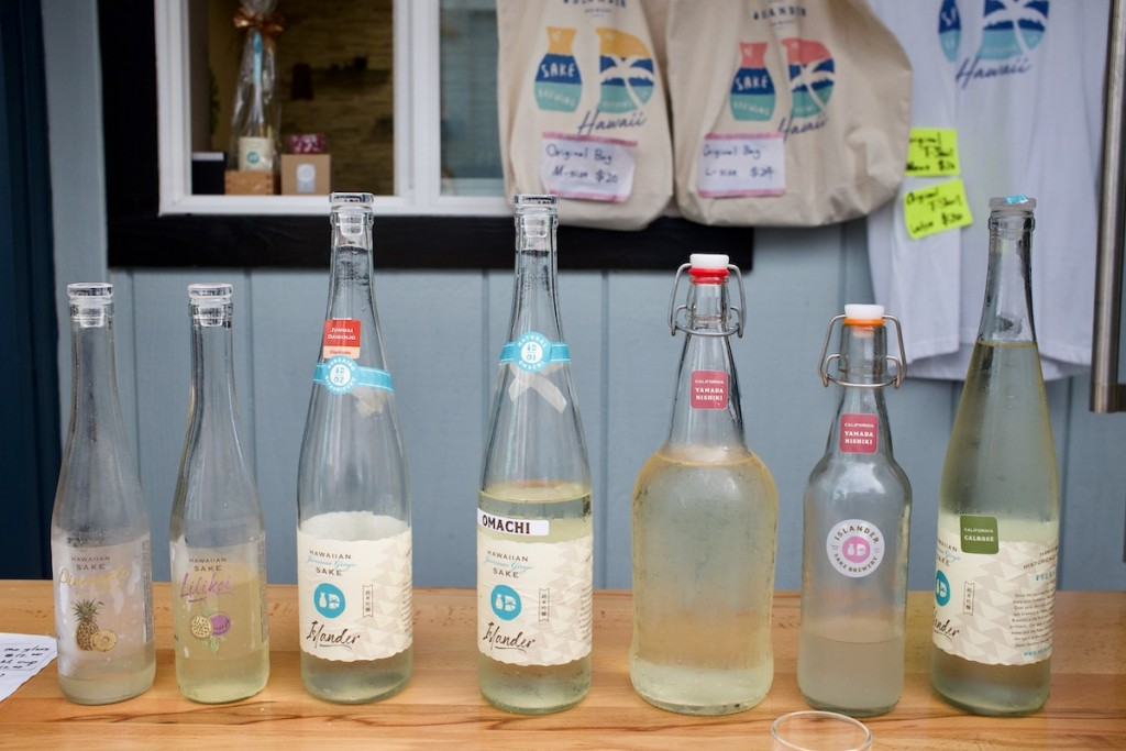 Islander Sake Tasting