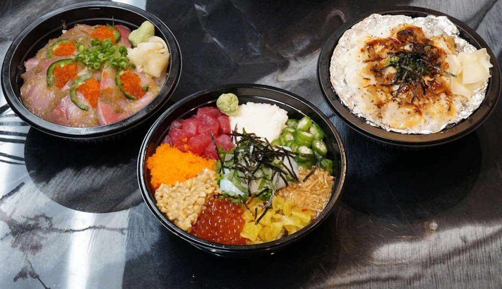 Mama Kims Specialty poke and sushi Bowls 1