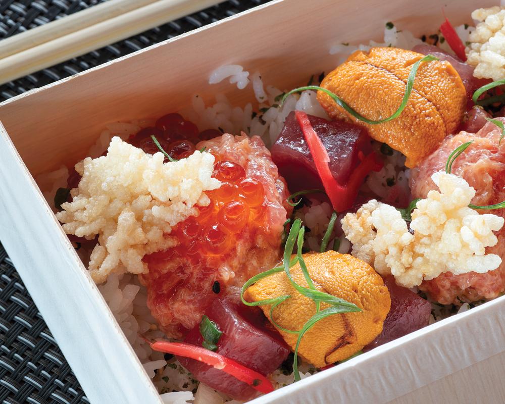 Mw Restaurant Chirashi Box Olivier Koning