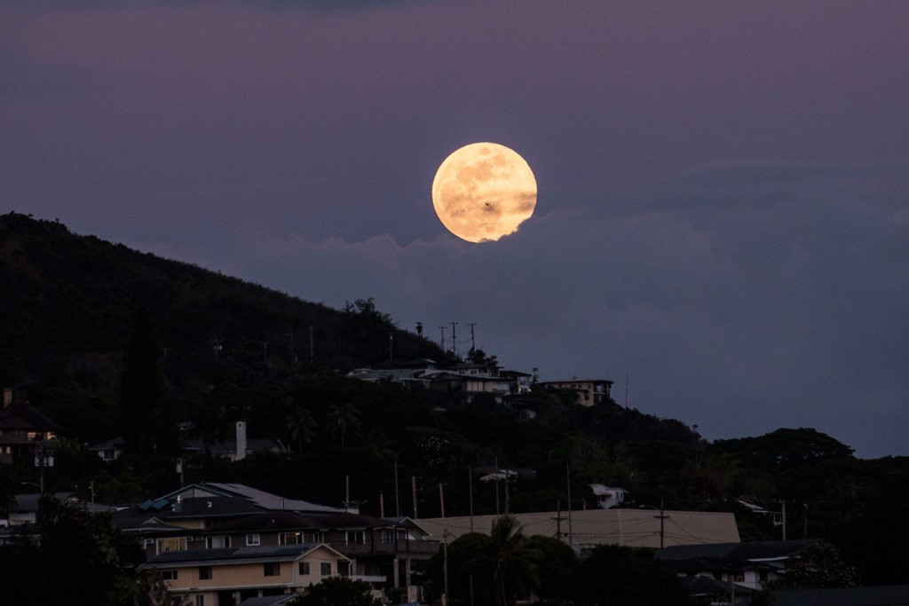 Strawberry Full Moon June 16 2019 Aaron Yoshino