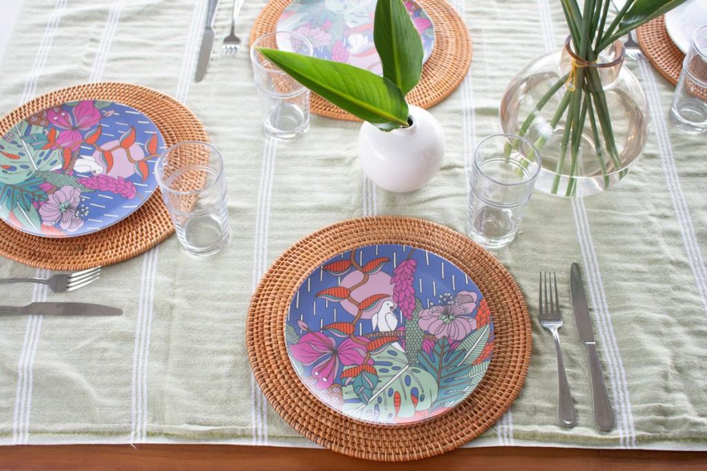 Jana Lam Dining Plates Courtesy Jana Lam