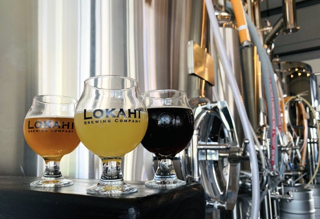 Lokahi Brewing Tanks And Beers