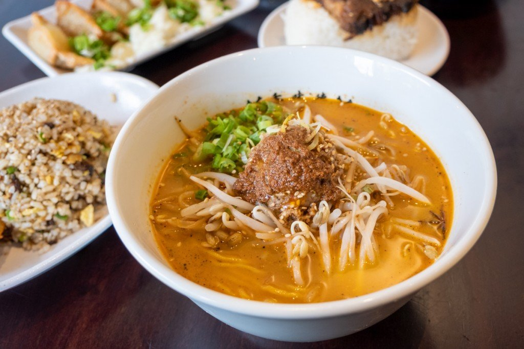 Kamitoku Beef Tan Tan Ramen