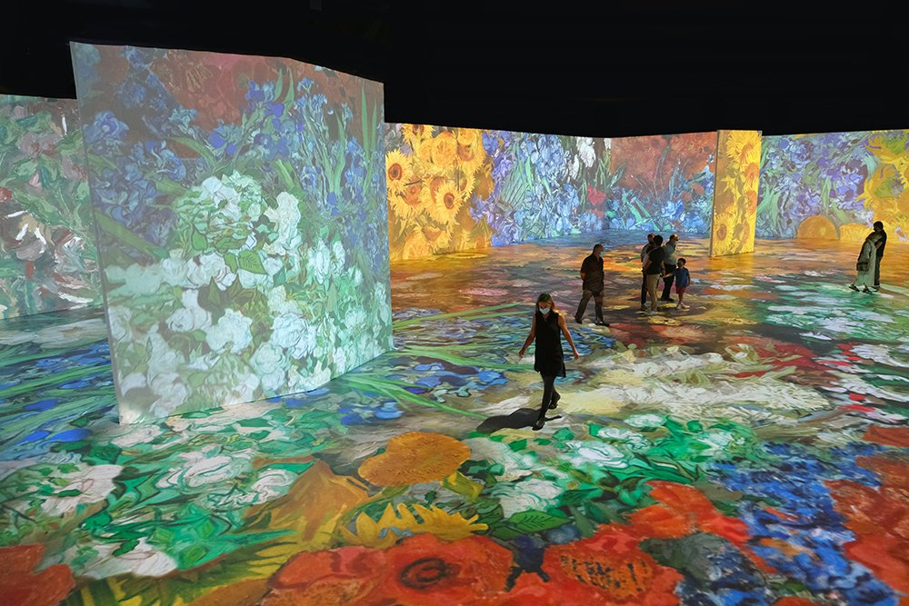 Beyond Van Gogh Miami At Ice Palace Studios