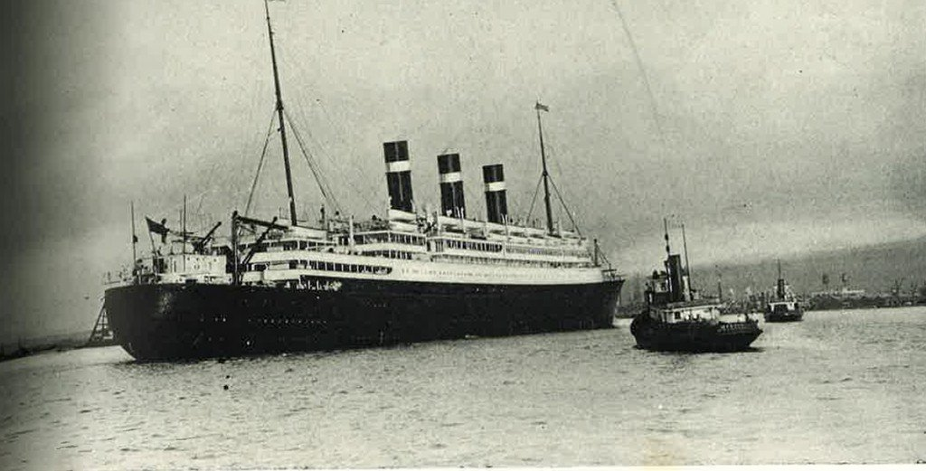Hn2104 Calabash Fof Ship April 1926