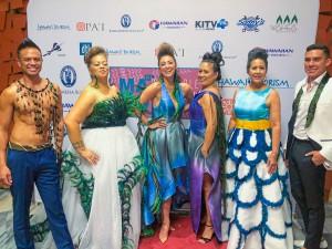 Kawika Lum-Nelmida weaves feathers into works of art. Photo: Courtesy Pai Foundation