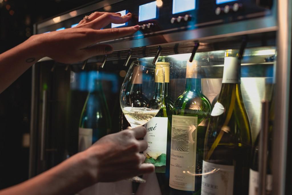 Amuse Wine Bar Wine Carousels