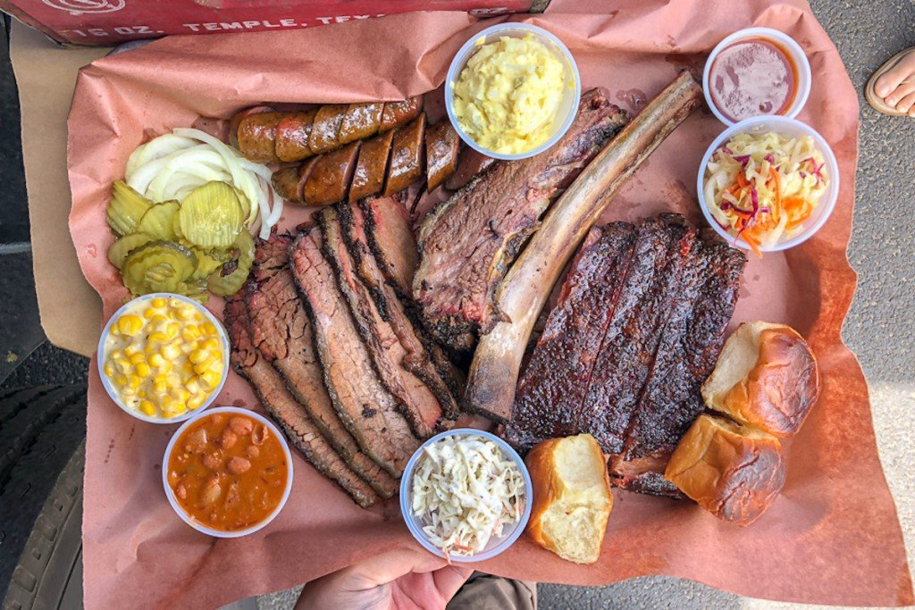 sunset smokehouse Barbecue tray