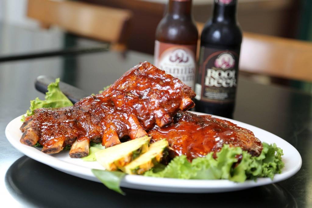 Big City Diner Ribs Plate