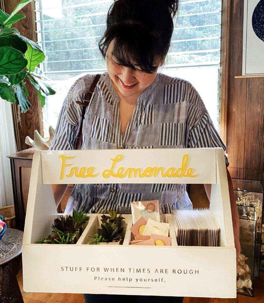Make Lemonade Project Gift Box Courtesy Make Lemonade