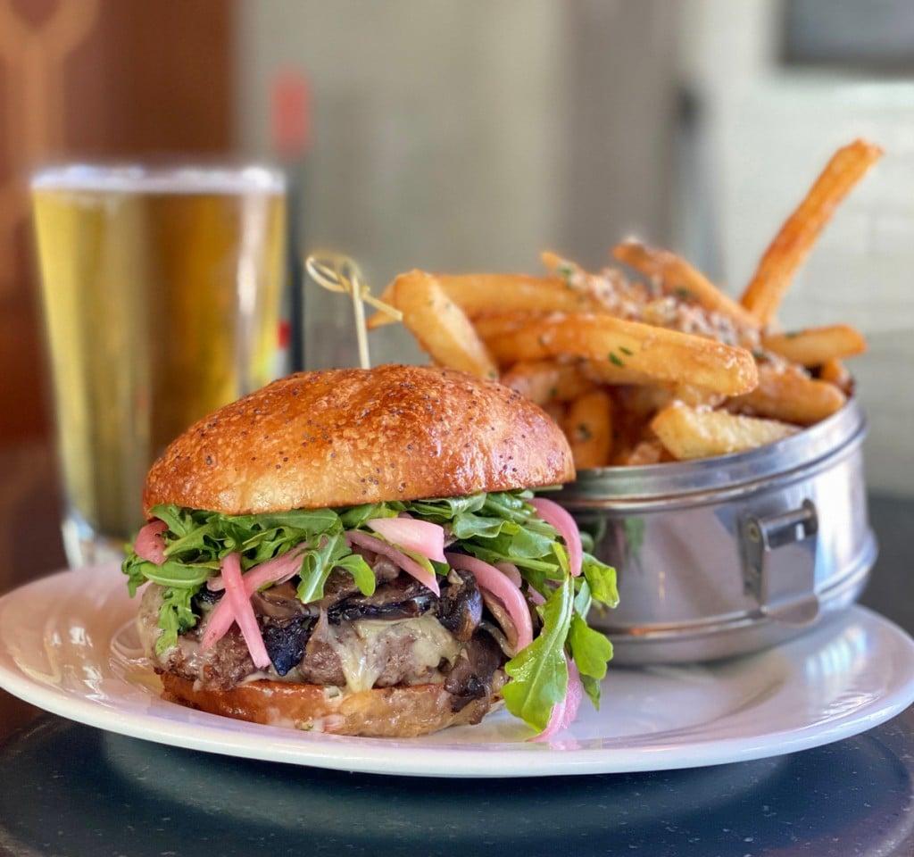Merrimans Honolulu Wagyu Umami Burger Fries