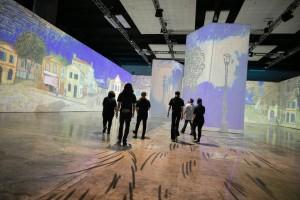 Beyond Van Gogh at HCC Blessing & Media Preview