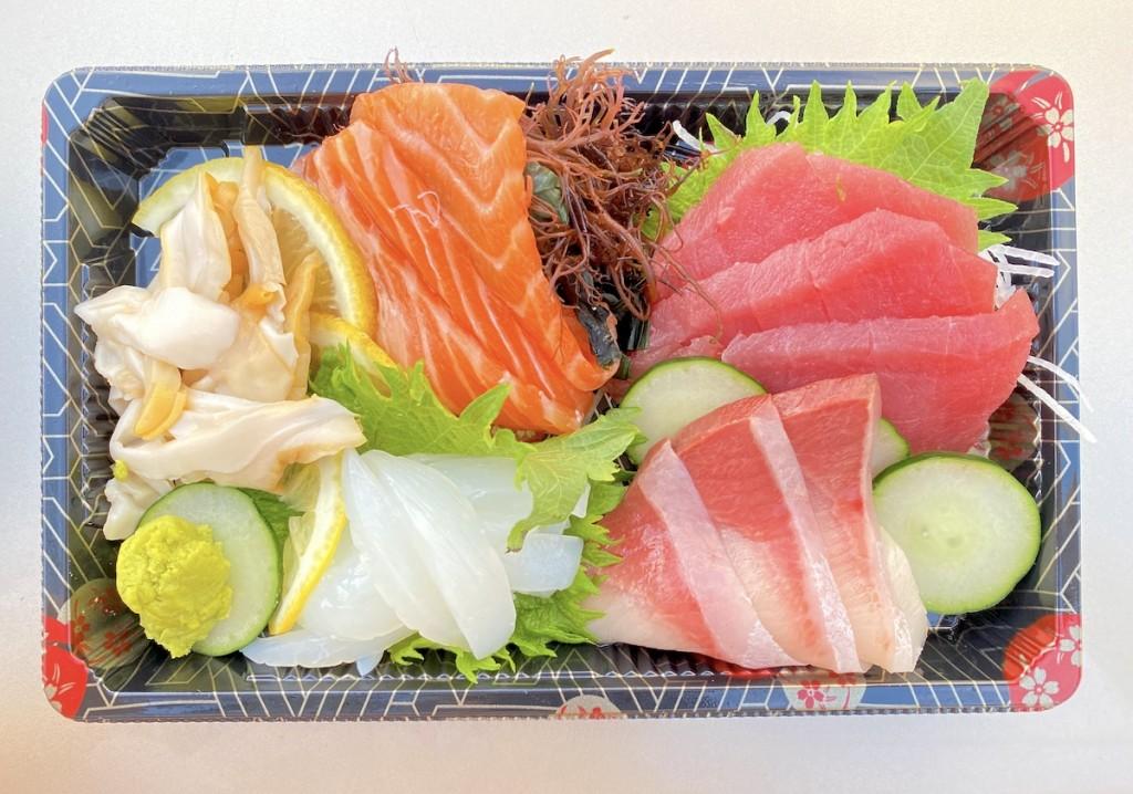 Fish And Rice Sashimi Mari Taketa