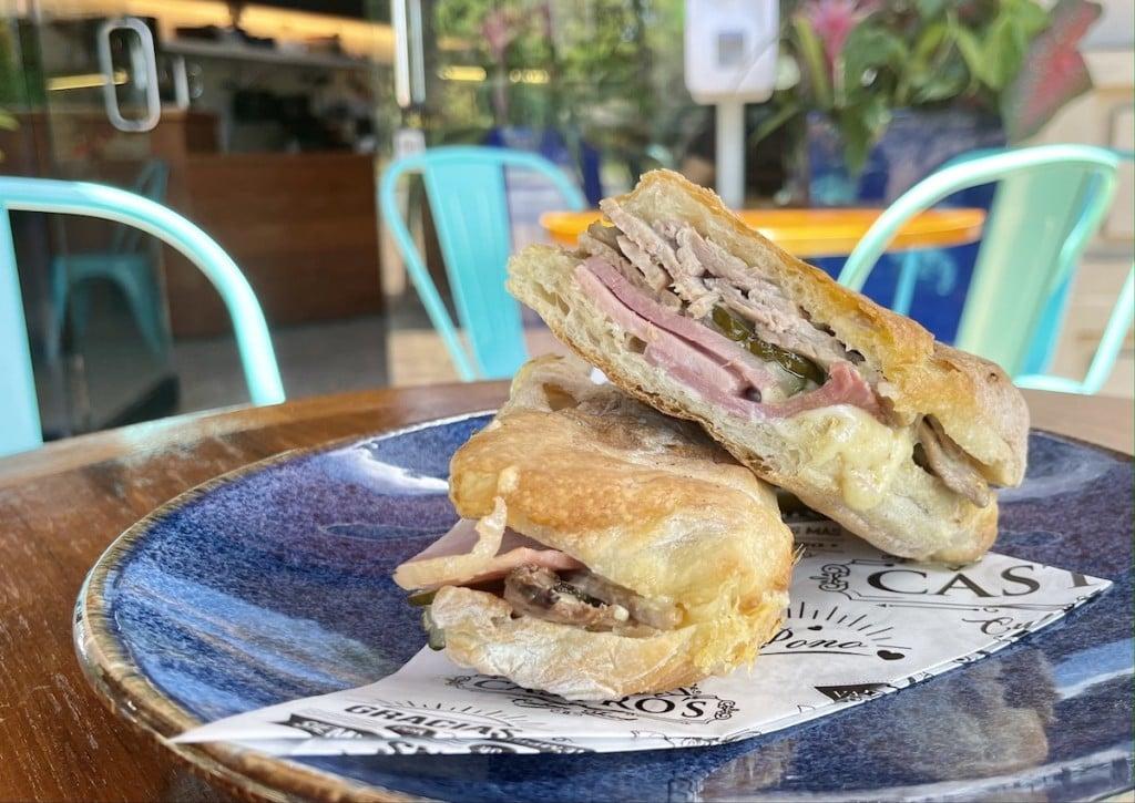 Castros Cubano Sandwich Maria Burke